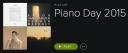Piano Day Playlist